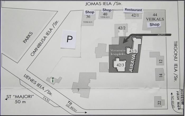"""Viesu nams Jūrmalā """"AIRAVA"""" 2019 - 8"""