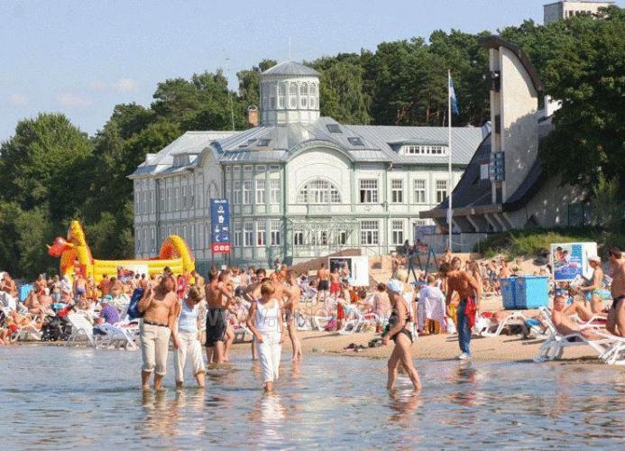 Trijų kambarių buto nuoma Jurmalos centre - 300 m. iki jūros - 4