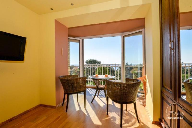 Vieno ir dviejų kambarių butų nuoma Nidoje