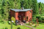 Log villa with sauna, apartment, studio and holiday cottage in Palanga EIMIO villa