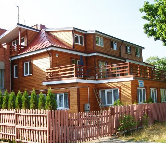 Nuo 30 Eur, butų, kambarių nuoma Palangoje, kiemas, atskiros virtuvės