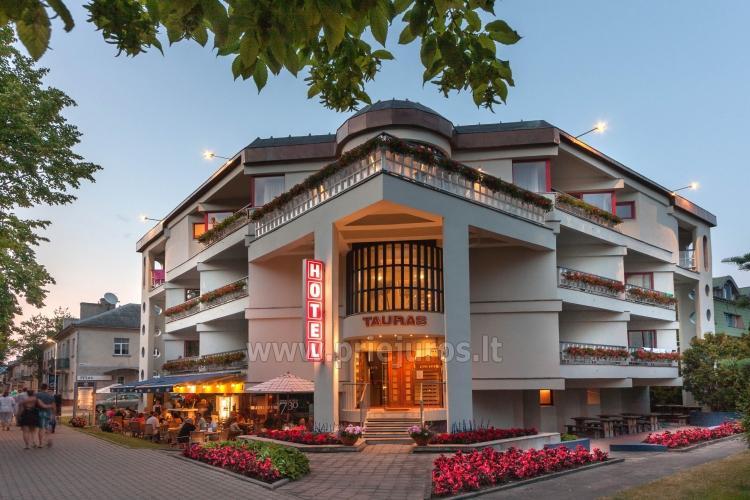 Viešbutis Palangoje Tauras Center Hotel