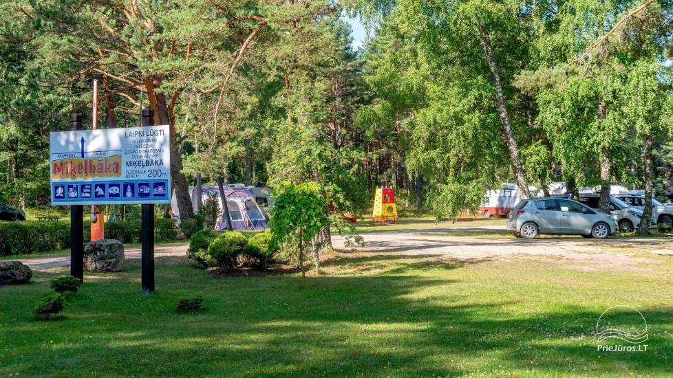 Kempingas ir nameliai Ventspilio rajone Miķelbāka - 46