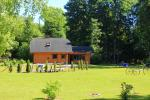 Camping SILI. Holiday Cottages, Bathhouse, Places for Tents - 4