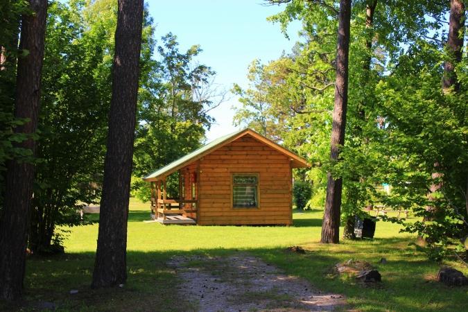 Kemping, pokoje i domki w Jurkalne SILI - 9