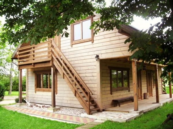 Sauna and recreation area in Ventspils region Ozolina