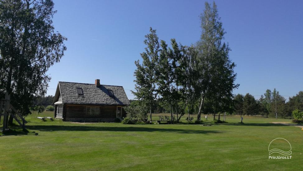 Nameliai, kambariai, pirtis, salė Jūrkalnėje sodyboje PALMAS - 22