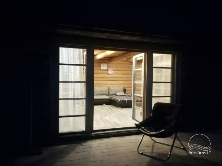 Nameliai, kambariai, pirtis, salė Jūrkalnėje sodyboje PALMAS - 27