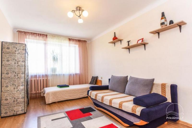 Dviejų kambarių butas Ventspilio centre