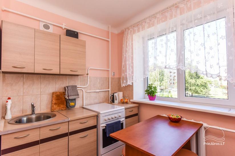 Dviejų kambarių butas Ventspilio centre - 12