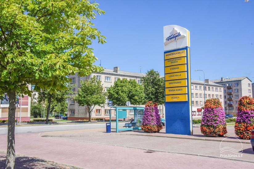 Dviejų kambarių butas Ventspilio centre - 22