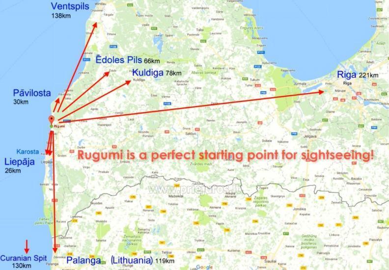 Rugumi - Camping, Ferienhäuser und Zeltplatz an der Küste ...