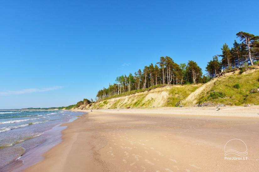 Brīvdienu mājas un Kempings HORTUS Tikai 20m no pludmales! - 8