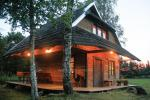 Little holiday houses for rent not far from Sventoji (sauna, horses)