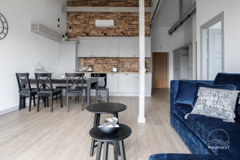 Šiuolaikiški apartamentai Klaipėdos centre Comfort Stay