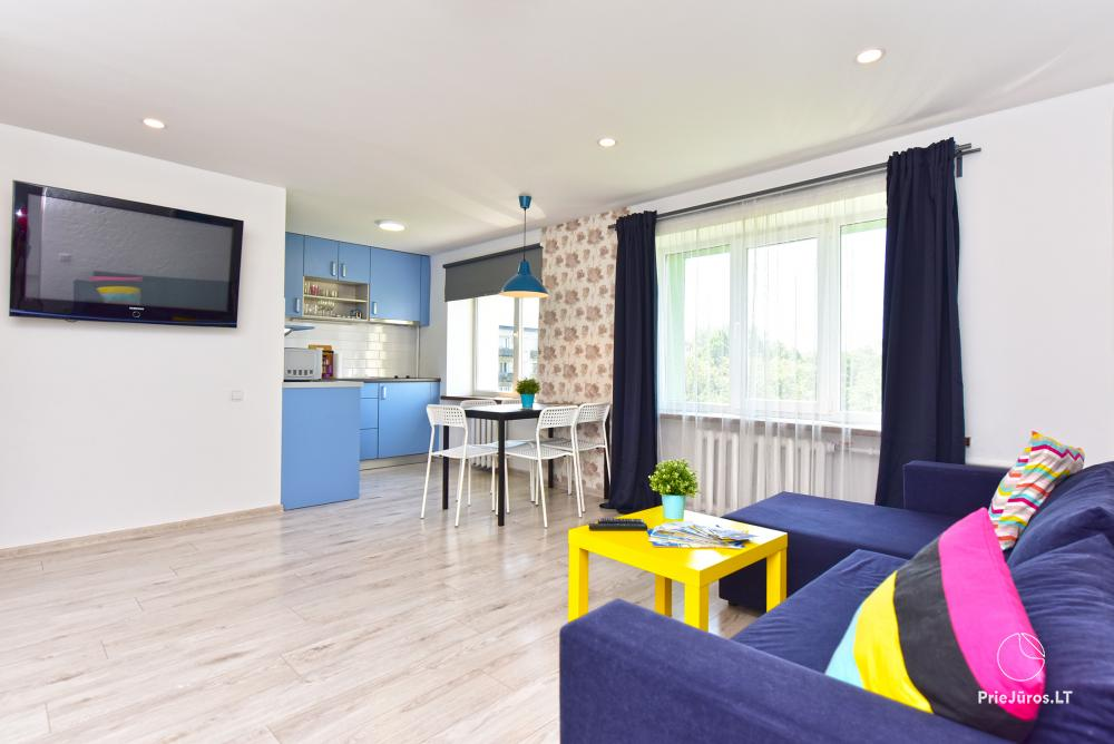 Naujai, moderniai įrengti 2 kambarių butai Petera ir Aleksandra gatvėse - 4