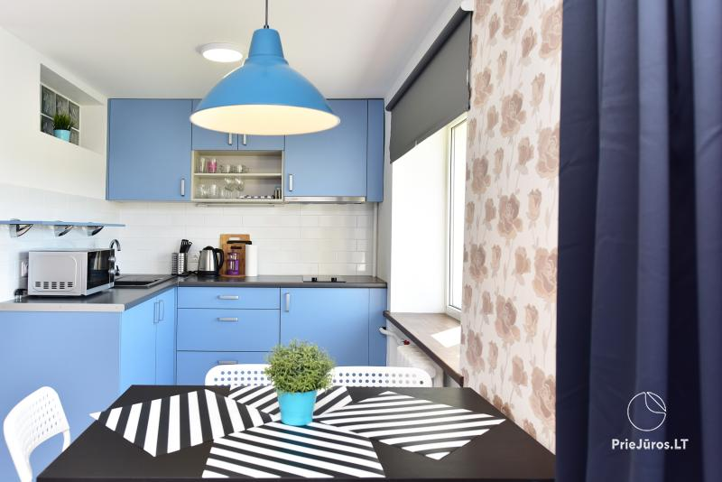 Naujai, moderniai įrengti 2 kambarių butai Petera ir Aleksandra gatvėse