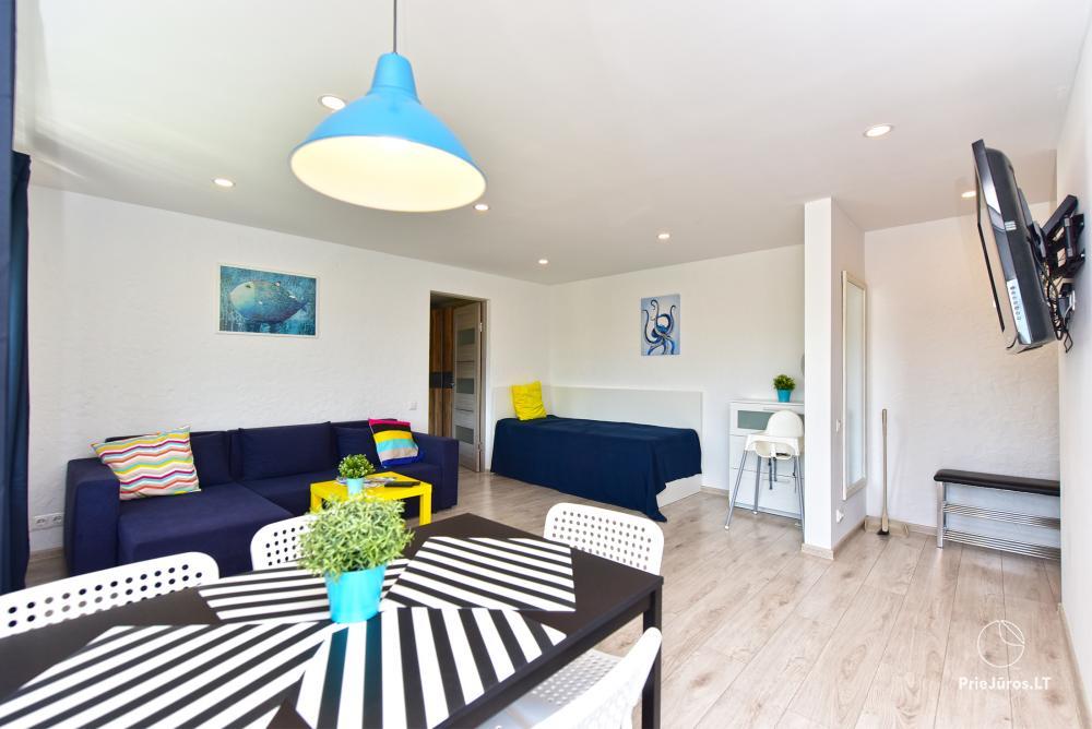 Naujai, moderniai įrengti 2 kambarių butai Petera ir Aleksandra gatvėse - 5