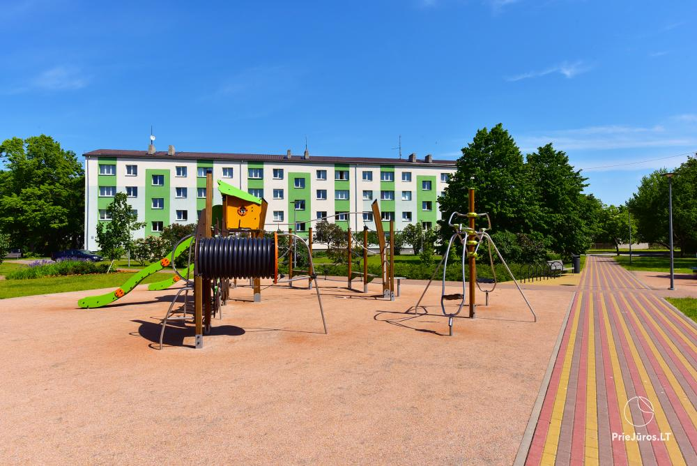 Naujai, moderniai įrengti 2 kambarių butai Petera ir Aleksandra gatvėse - 8