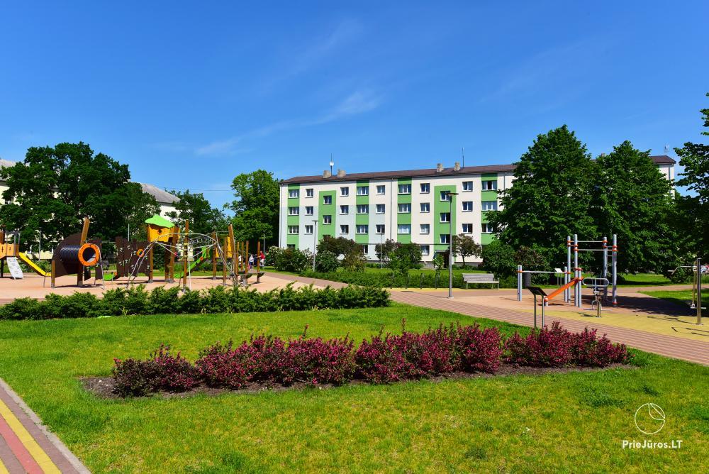 Naujai, moderniai įrengti 2 kambarių butai Petera ir Aleksandra gatvėse - 9