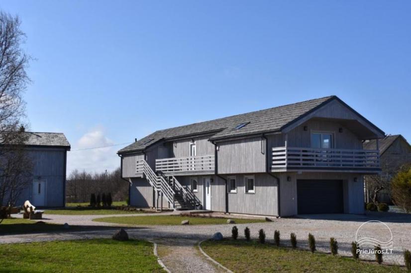 Guest house Četri Vēji in Jurkalne - 120 m to the Baltic Sea - 1