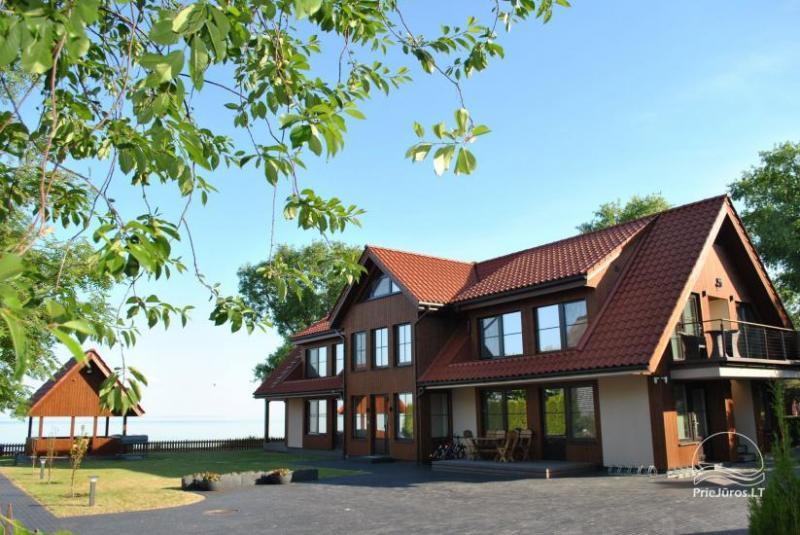 Jaukių apartamentų nuoma su terasa Preiloje, prie pat Kuršių marių