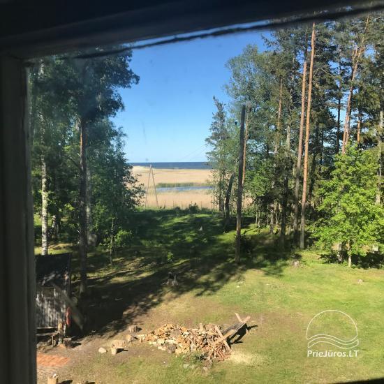 Kempingas Mersrags rajone Latvijoje. Iki jūros - 100 m. - 6