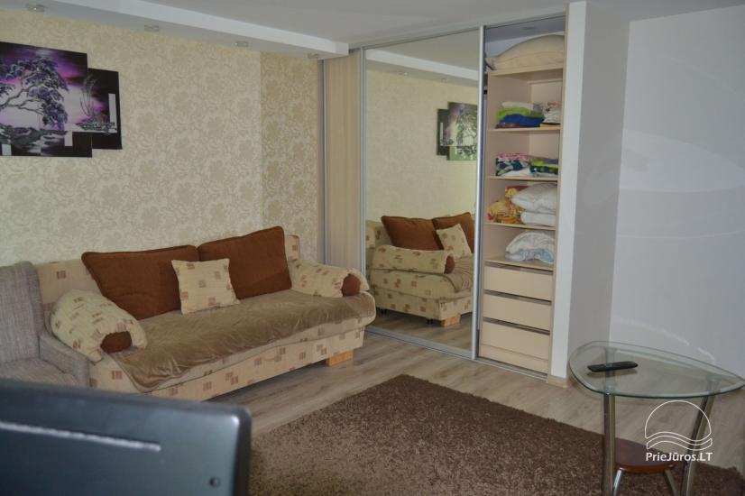 Nuomojamas vieno kambario butas Ventspilio centre - 1