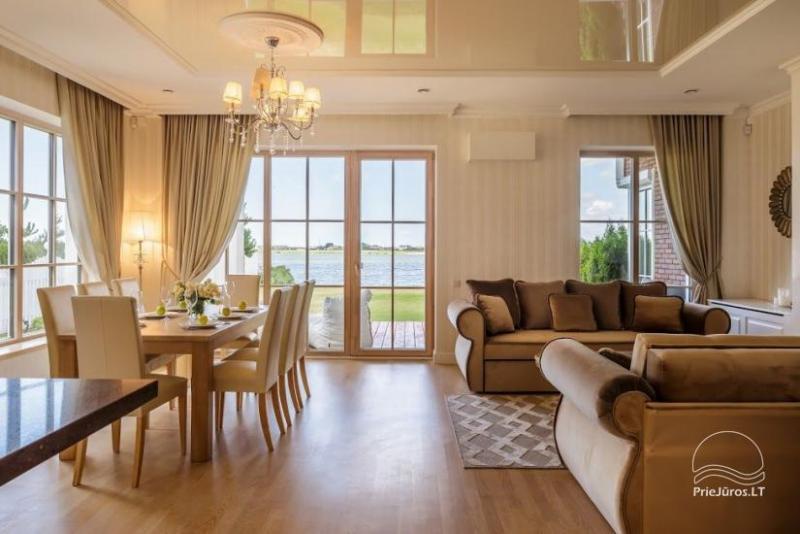 Smėlynas Klaipėda Lake House - prabangūs apartamentai ant ežero kranto Klaipėdoje
