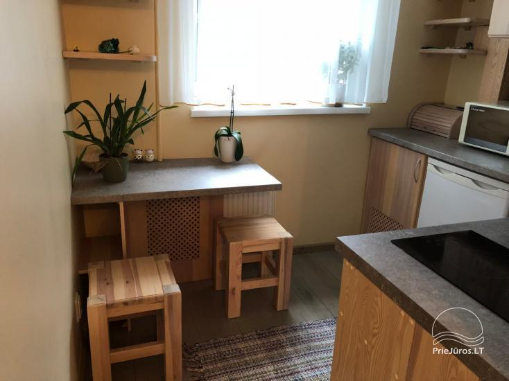 Well-equipped one-bedroom apartment for rent in the center of Ventspils during the summer season - 2
