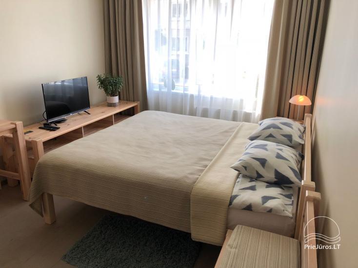 Vasaras sezonā izīrē labiekārtotu 1-istabas dzīvokli Ventspils centrā - 6