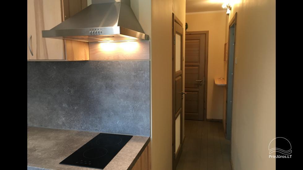 Vasaras sezonā izīrē labiekārtotu 1-istabas dzīvokli Ventspils centrā - 4