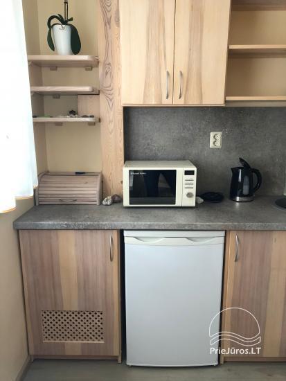 Vasaras sezonā izīrē labiekārtotu 1-istabas dzīvokli Ventspils centrā - 3