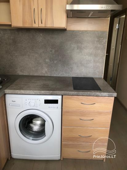 Nuomojamas gerai įrengtas vieno kambario butas Ventspilio centre - 5