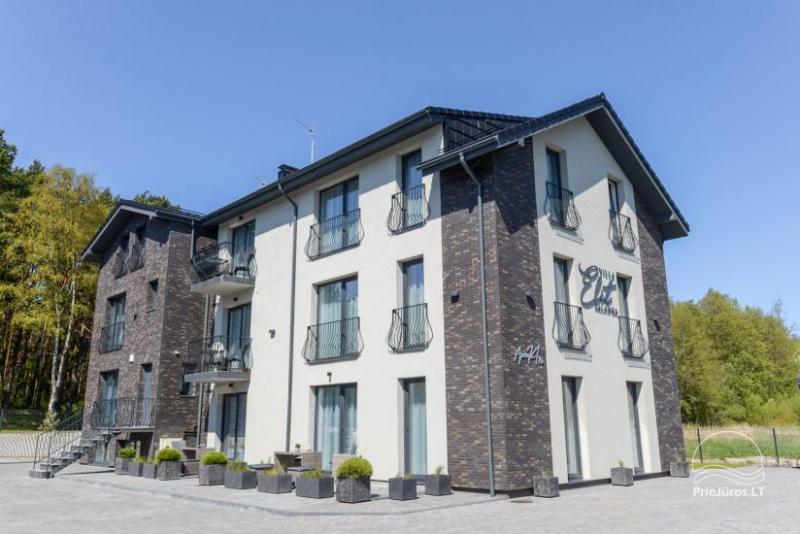 Vila Elit -  Apartamentai nuomai Palangoje, prie pušyno