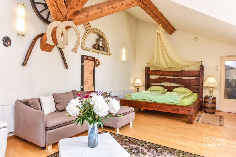 """Apartamentų viešbutis Ventspilyje """"Villa Leonardo"""" - 50"""