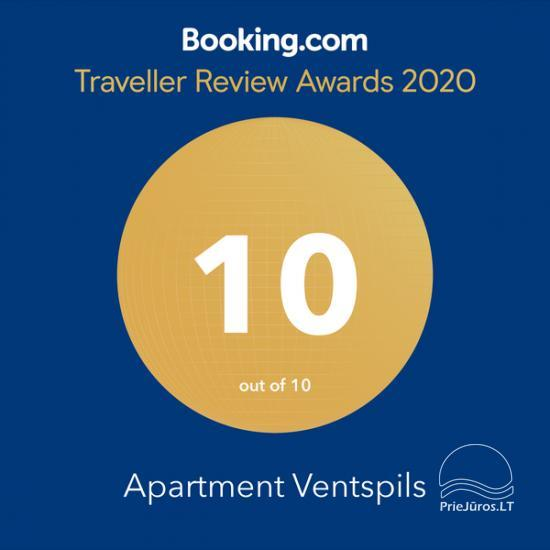 The newly furnished apartment for rent in Ventspils, 10 min to the sea - 21