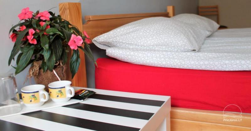 Liepų hostelis - apartamentų nuoma pačiame Liepojos centre