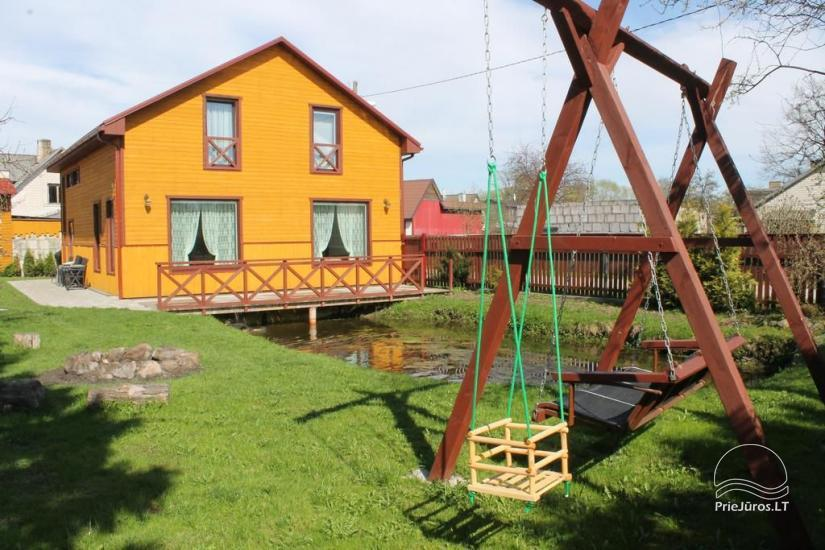 Guest house and Holiday cottage in Ventspils AMRAI: cosy rooms,  sauna - 1