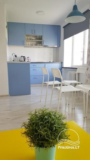 New modern 2 rooms apartment Petera for rent in the center of Ventspils - 2