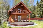 Hölzernes Ferienhaus - Mini Villa in Palanga