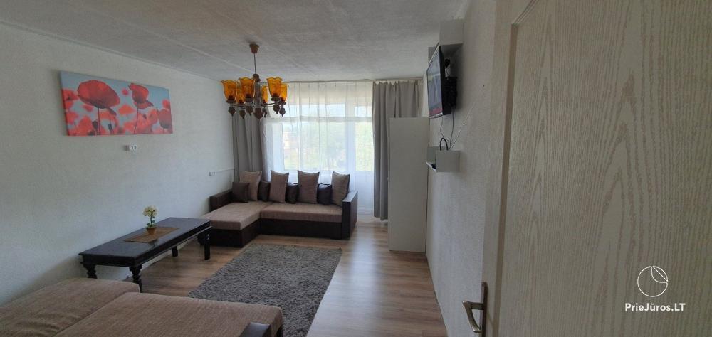 Dviejų kambarių buto nuoma Liepojoje  - 500 m. iki jūros - 1