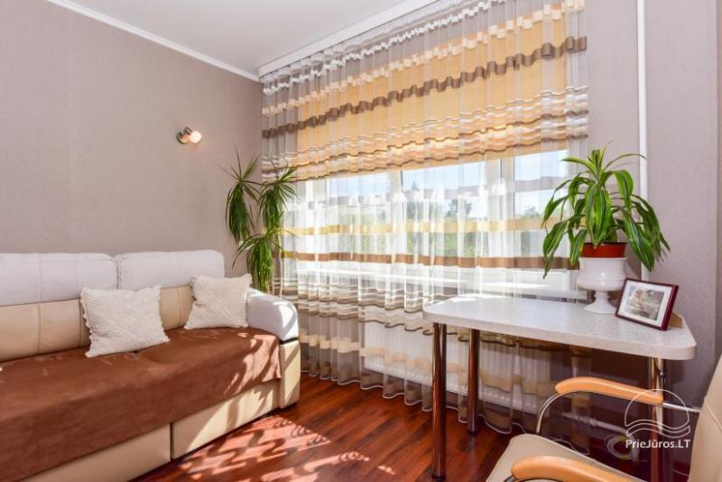 Jaukus dviejų kambarių butas 37,2 m2, LD apartamentai Ventspilyje, Latvijoje