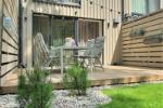 Nowy domek z podgrzewanym basenem do wynajęcia w Połądze (4 pokoje)