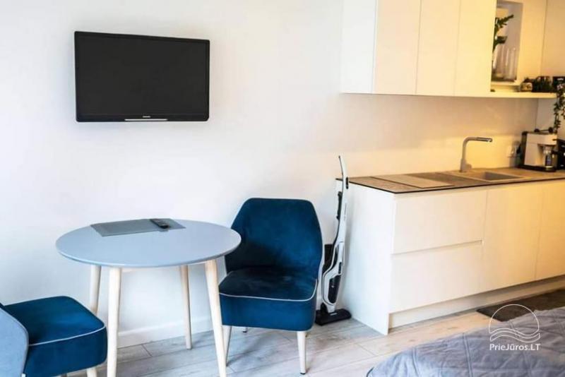 Naujai įrengti apartamentai Juodkrantėje