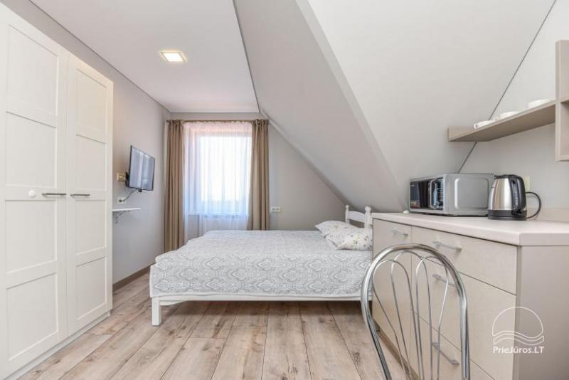 Dviviečių, triviečių kambarių, apartamentų nuoma Palangoje Pas Giedrę