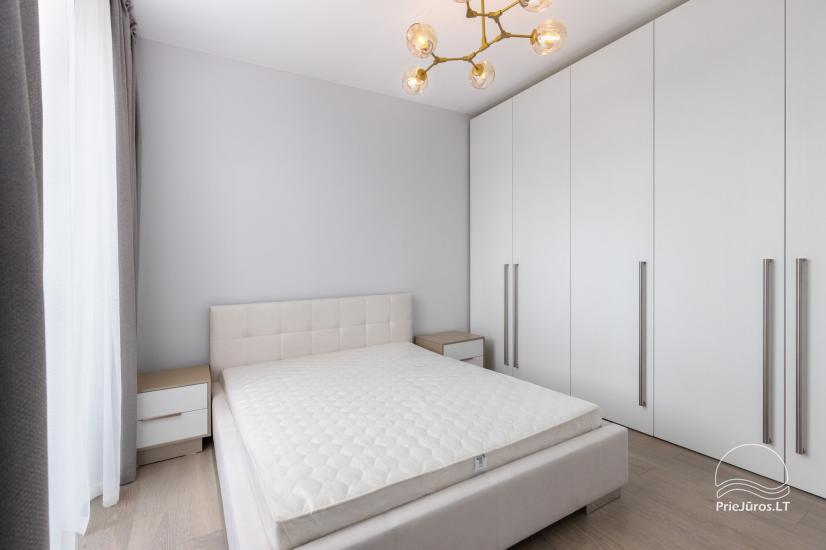 Prywatne apartamenty do wynajęcia w centrum Jurmali z tarasem 20m2, 300m do morza - 7