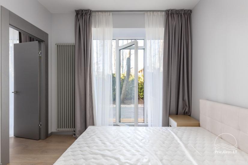 Privačių apartamentų nuoma Jūrmalos centre su 20kv.m terasa, 300m iki jūros - 9