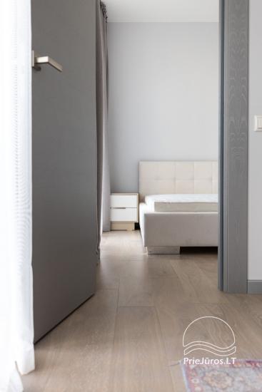 Privačių apartamentų nuoma Jūrmalos centre su 20kv.m terasa, 300m iki jūros - 10
