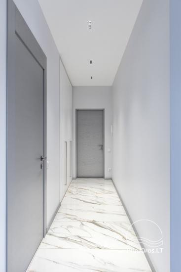Privačių apartamentų nuoma Jūrmalos centre su 20kv.m terasa, 300m iki jūros - 12